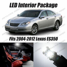 16pcs LED White Lights Interior License Package Kit For Lexus ES330 ES350