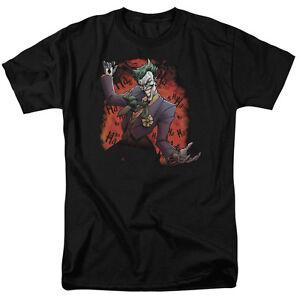 Sizes Adult Laughing All Joker Ave shirt Licensed Ha Joker's T Batman 1vxavF