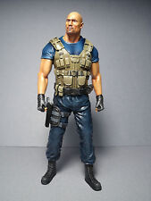 FIGURINE  FIGURE  1/18  FAST  AND  FURIOUS   ROCK  JOHNSON   VROOM   UNPAINTED