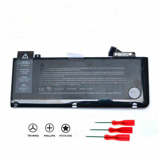 Genuine A1322 Original Battery Apple Macbook Pro 13 Aluminum Unibody A1278 For Sale Online Ebay