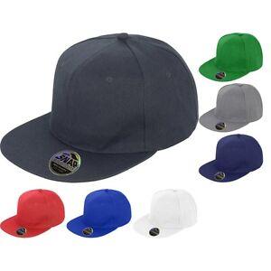 05bec200eeb Mens Result Core Bronx Original Flat Peak Snapback Baseball Cap Hat ...