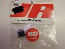 JR - FM TRANSMITTER CRYSTAL -CHANNEL 80 - 75.790 MHz - GROUND - MODEL# JRPXFT