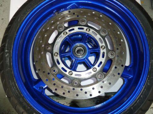 Yamaha YZF600R Thundercat 96-02 disco de freno delantero trasero de titanio paquetes de Perno rotar