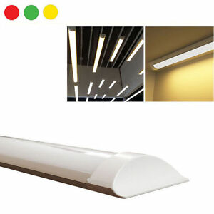 Neon barra led applique soffitto plafoniera smd 60 120 cm calda fredda naturale ebay - Barra led bagno ...