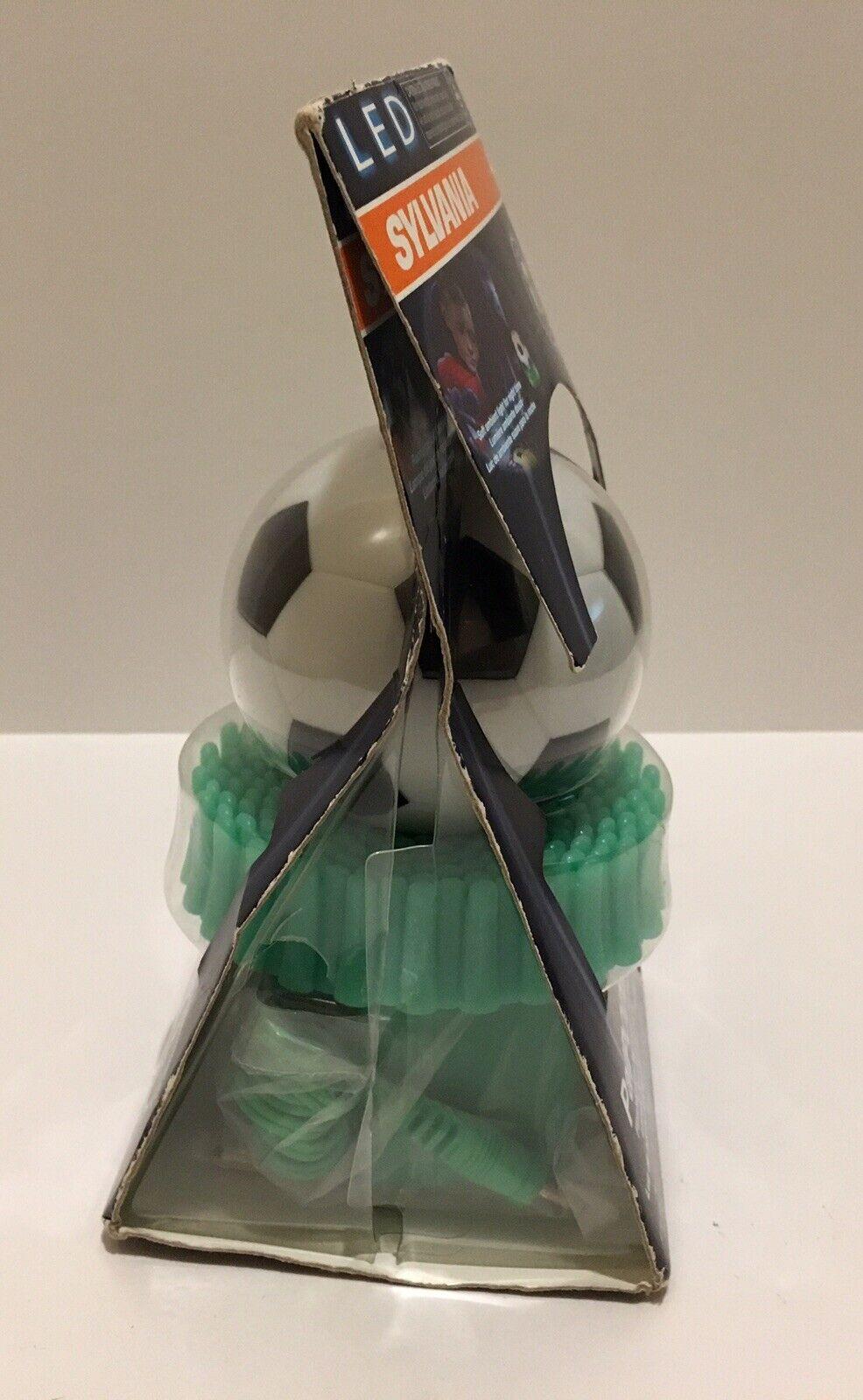 PalPODzzz Sylvania LED Soccer Ball Nightlight /& Flashlight Emergency Light Open
