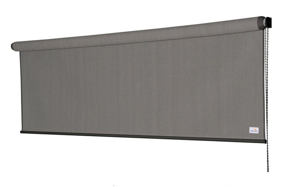 Nesling Coolfit Rollo Sonnenschutz wasserdurchlässig (B x H) 2,48 x 2,40 m Grau
