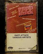 Mega Rare 1980's Rap  Rapp Attack - 7 Big Rapp Hits Audio Cassette 1985 NEW