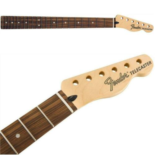 "Fender Deluxe Series Tele Neck 12/"" Radius 22 Jumbo Frets Pau Ferro 0997503921"