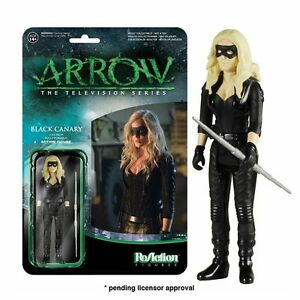 Black-Canary-ReAction-Figura-10-cm-DC-Arrow-Producto-Oficial