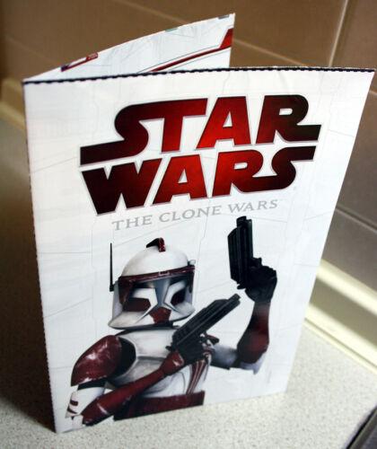 UFFICIALE Star Wars Il Clone Wars Action Figure Doppia Faccia POSTER 40X55cm NUOVO!