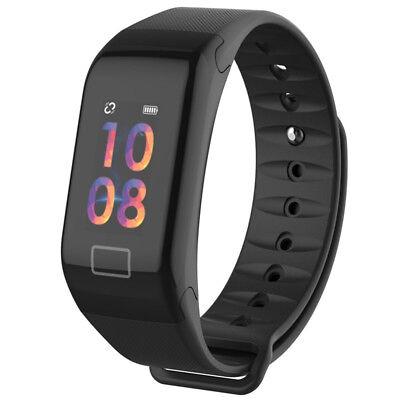 Sport Blood Pressure Oxygen Heart Rate Fitness Smart Watch Wrist Band Bracelet F