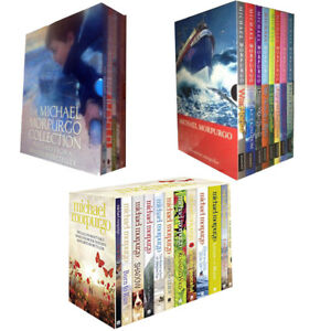 Michael-Morpurgo-Children-Box-Set-26-Books-Collection-Place-Meeting-Cezanne-NEW