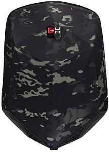 Zaino Helvei Stealth Impermeabile Con Speaker E Powerbank, Colore Camouflage