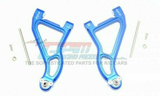 GPM Racing Traxxas UDR bluee Aluminum Front Upper Suspension Arm Set UDR054A-B