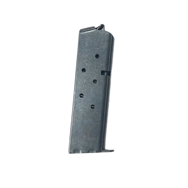 Colt Government/Mustang 2/Pocketlite LW .380 ACP 7 Round RD Blued Magazine/Mag