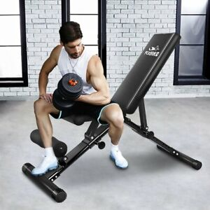 FLYBIRD-Adjustable-Weight-Bench-Press-Flat-Incline-Lifting-Fitness-Gym-Exercise