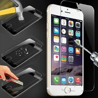 Cover Guard Tempered Glass Film Screen Protector HD For iPhone 6 6S Plus 5.5""