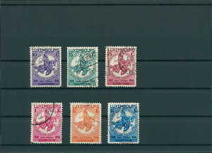 Lussemburgo 1934 nr 259-264 timbrato (201549)