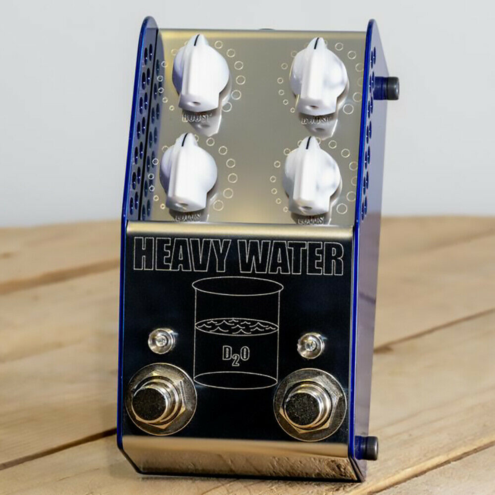 Thorpy FX Dual High Headroom Boost Guitar Effects Pedal