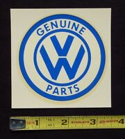 Genuine Vw Parts Water Slide Decal Stickeroriginal 60's Vintagevolkswagen Bug