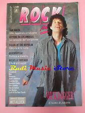 rivista ROCK MAGAZINE 5/1989 Mick Jagger Metallica Van Halen Kiss No DOSSIER cd