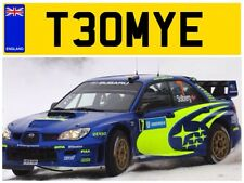 T30 MYE TOM TAM TOMS TOMMY TOMMO THOMAS TOMUS THOMPSON TOMSON TOMY NUMBER PLATE