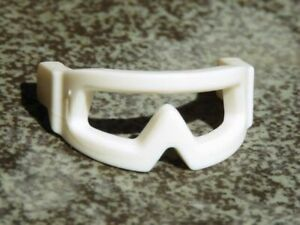 2x Minifig headgear Visor Snow Goggles lunette SW blanc//white 46304 NEUF Lego