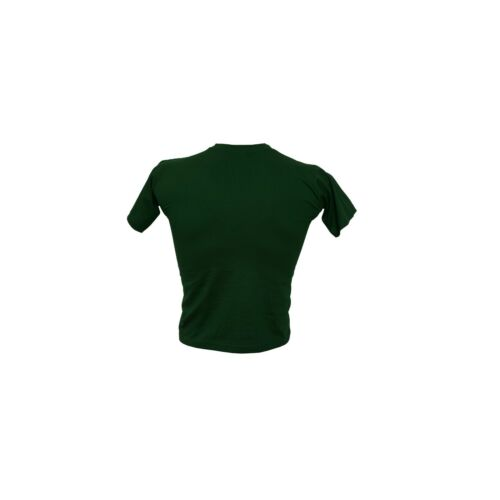 T-Shirt Bianco Elefante stampa con colori Lingotto Ginnastica Cotone Sport Ginnastica
