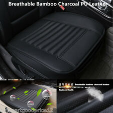 Bamboo Charcoal PU Leather Autos Seat Full Surround Cover Pad Breathable Cushion
