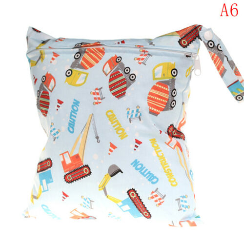 Wet bag washable reusable cloth diaper nappies bags waterproof bag ZN
