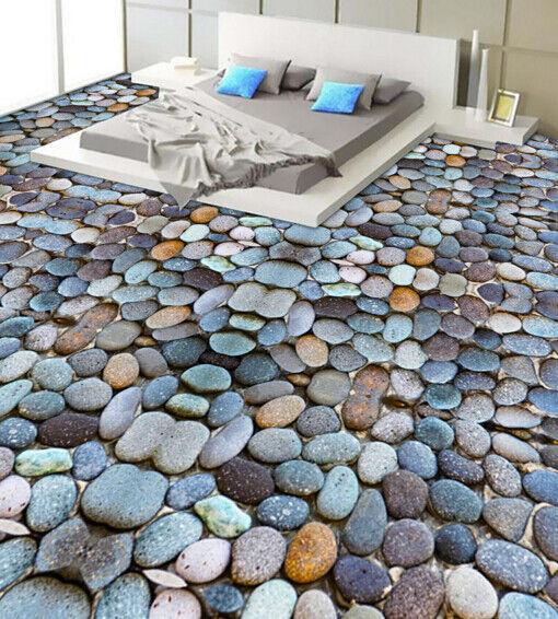 3D encantador Piedras Papel Pintado Mural Parojo Impresión de suelo 64 5D AJ Wallpaper Reino Unido Limón