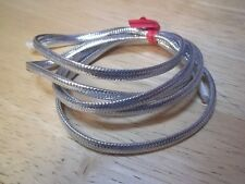 "1 Yard 3/16"" Silver Mylar Tubing Piping Fly Tying, Minnow Bodies"
