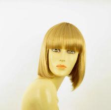 Perruque femme courte blond clair doré FLORENCE LG26