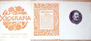 1925-RIVISTA-XILOGRAFIA-INCISIONE-GIANNETTO-MALMERENDI