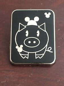 Hidden-Mickey-Pin-Series-III-Decals-Pig-Mouse-Ears-Disney-Pin-64830-2008-HTF
