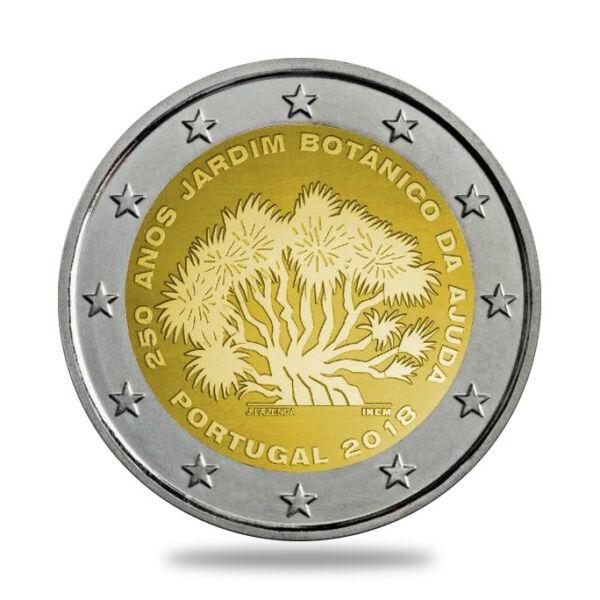 AgréAble 2 Euros Commemorative -portugal 2018- Jardin Ajuda - Neuve De Rouleau