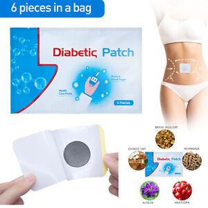 30Pcs-5Bags-Herbal-Diabetic-Patch-Stabilizes-Blood-Sugar-Balance-Glucose-Plaster