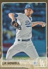 2015 TOPPS UPDATE J.P. HOWELL P DODGERS #US365 GOLD /2015 SP