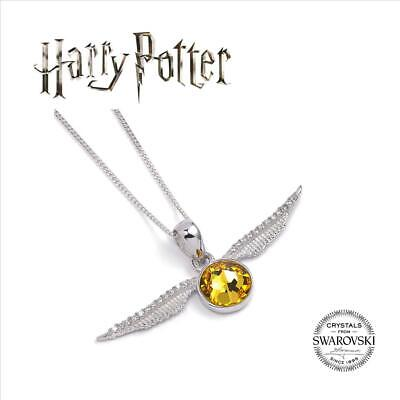 HARRY POTTER Official Sterling Silver Hogwarts Quidditch Golden Snitch Clip on Charm Boxed