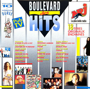 Compilation CD Boulevard Des Hits Volume 10 - France