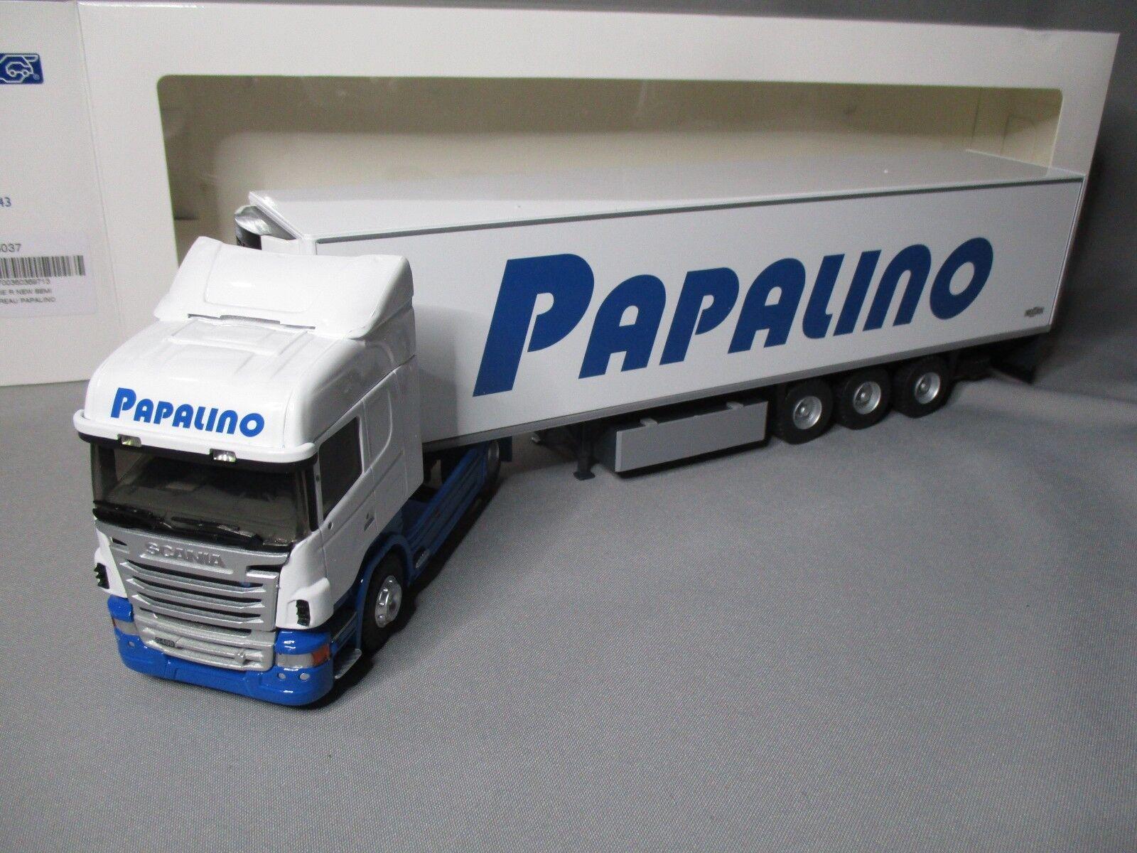 Dv7735 eligor 1 43 scania serie r refrigerated transport papalino 115037 rare