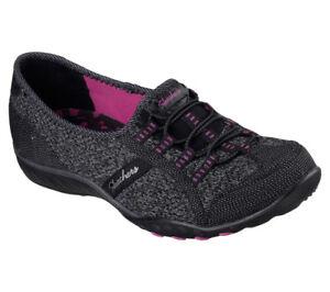 grigio Skechers Foam Save Sneakers New Memory day Nero easy Breathe the Women TgaAZwqnP