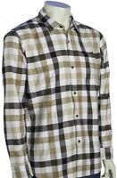 Quiksilver Fuze Ls Button Down Shirt - Khaki -