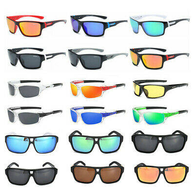 DUBERY Sport Polarized Driving Sunglasses Outdoor Riding Fishing Men Goggles