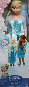 Disney-Frozen-MY-SIZE-ELSA-BARBIE-DOLL-38-034-OVER-3-FT-TALL-BDAY-GLOBAL-EXPEDITED