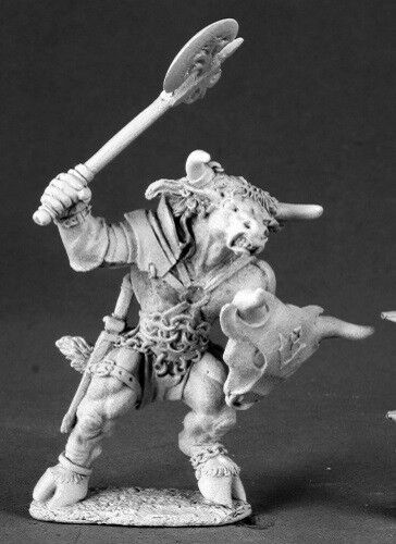Tarsus Minotaur Reaper Miniatures Dark Heaven Legends Fighter Warrior Barbarian