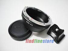 Canon EOS EF EF-S Lens to Fujifilm Fuji FX X X-Pro1 tripod mount adapter + CAP