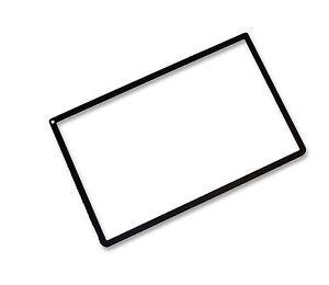 NINTENDO-NEW-3DS-XL-3DSXL-BLACK-TOP-SCREEN-FRAME-SURROUND-PROTECTOR-UK-Seller