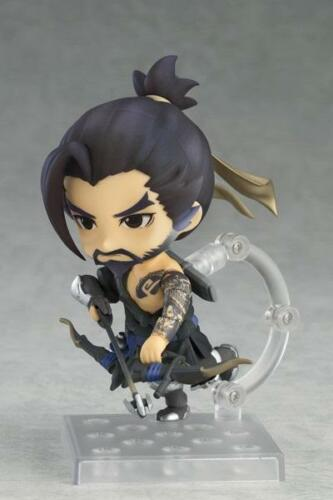 """In STOCK Good Smile Overwatch /""""Hanzo/"""" Classic Skin 839 Nendoroid Action Figure"""