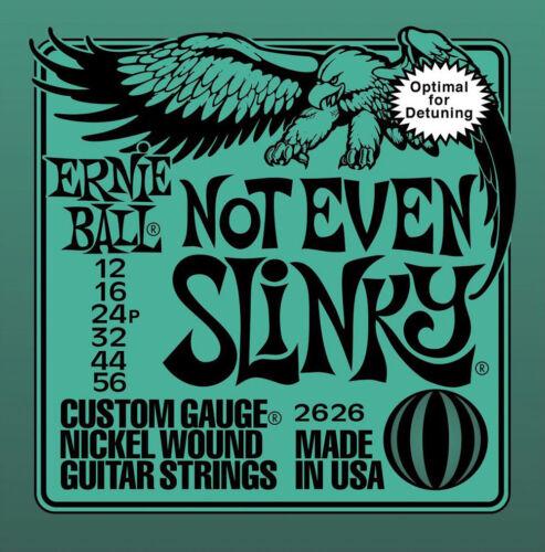 Ernie Ball Not Even Slinky Nickel Guitar Strings